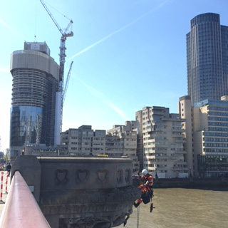 Blackfriars Bridge - Thames Tideway Tunnel project
