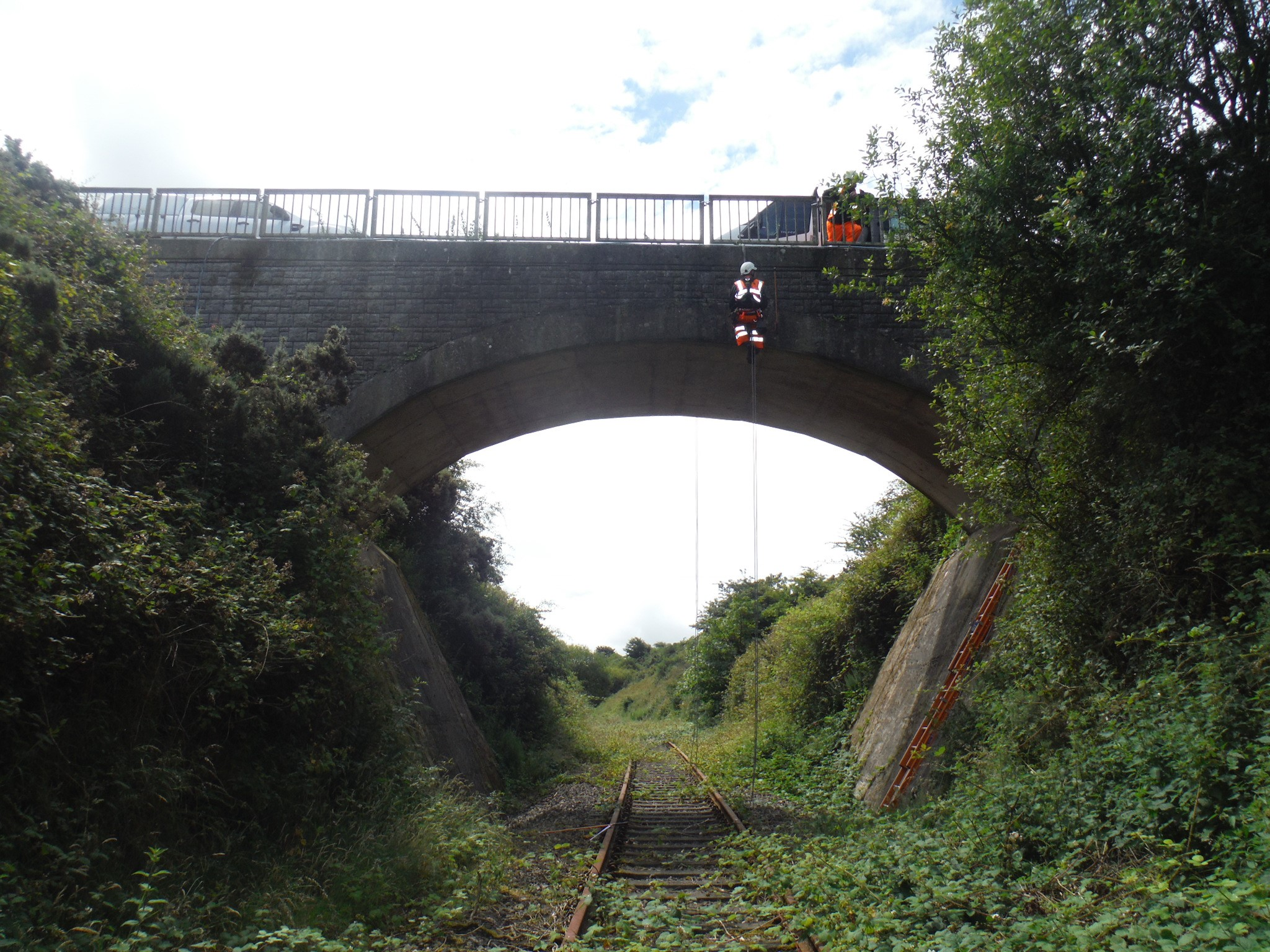 SAS Rope & Rail bridge inspections